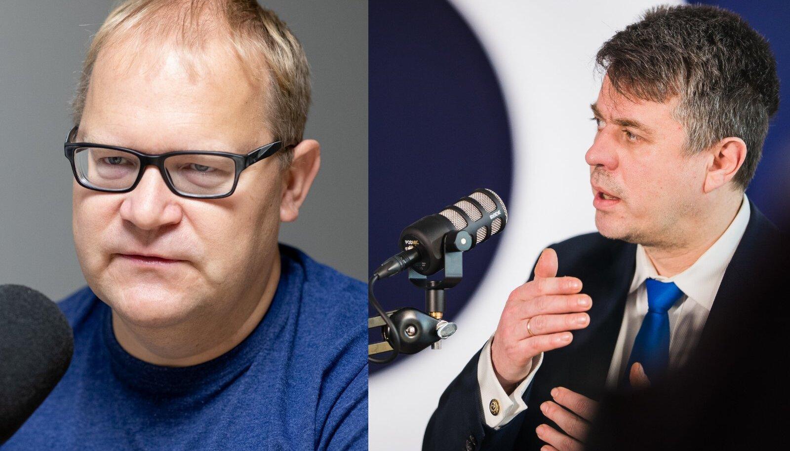 Urmas Paet ja Urmas Reinsalu.
