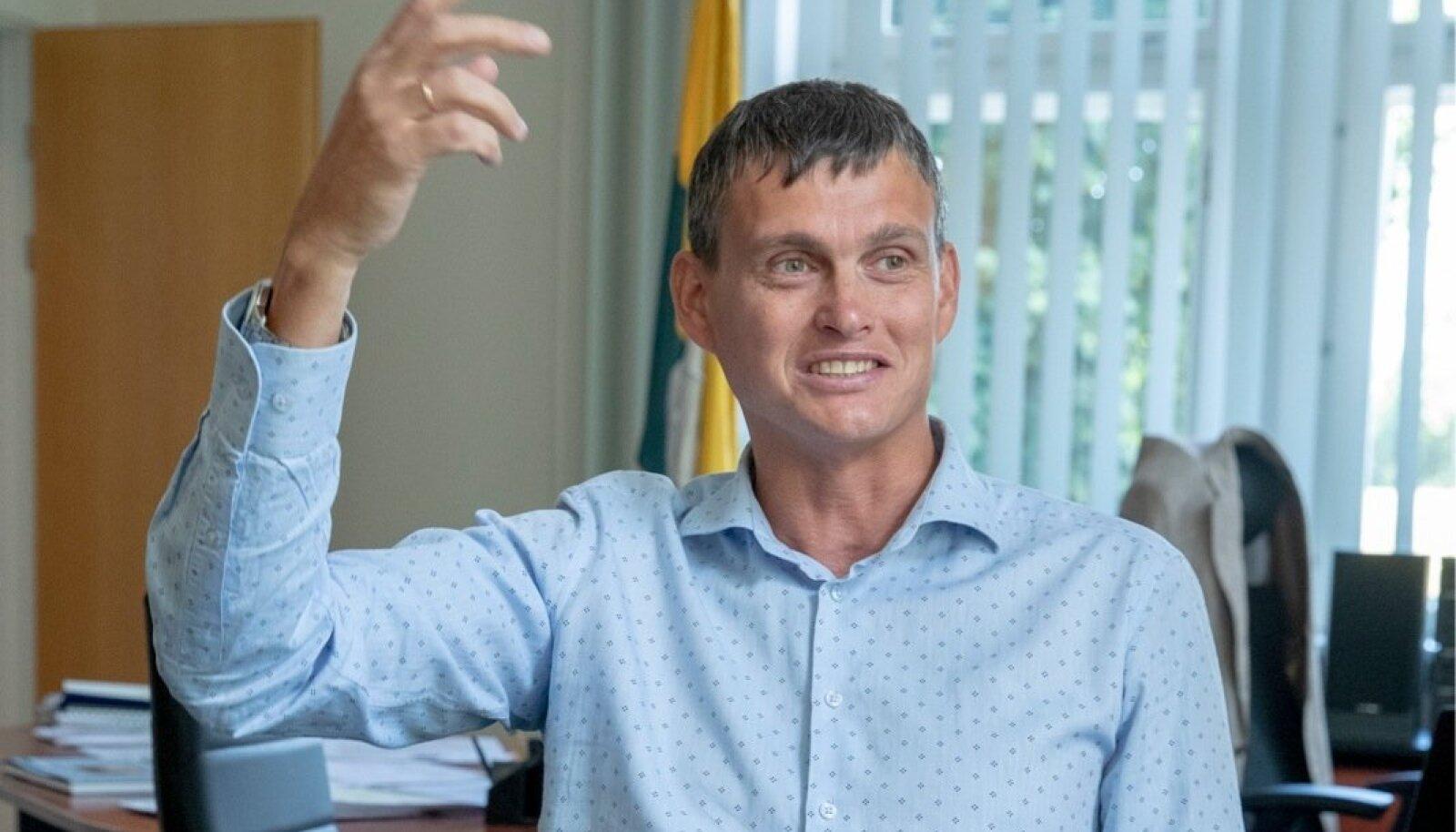 Narva linnapea ja peaarhitekt, Aleksei Jevgrafov, I