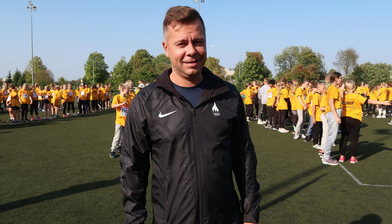 Eesti Olümpiakomitee liikumisharrastuse juht Peeter Lusmägi