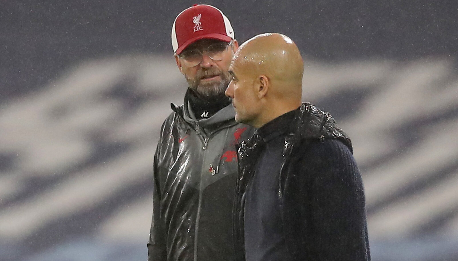 Jürgen Klopp ja Pep Guardiola
