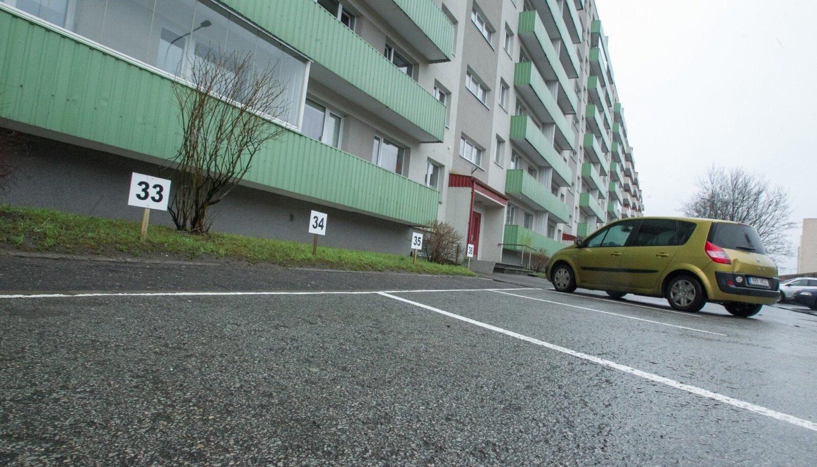 Mõelda, kui peaks elama korteris, mis väiksem kui parkimiskoht. Pilt on illustreeriv.
