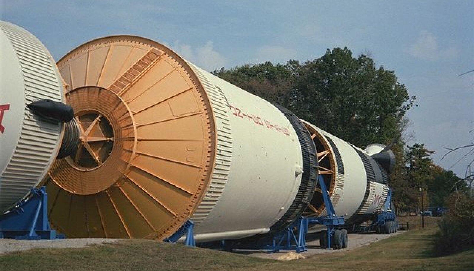 Saturn V-st on saanud vahepeal muuseumieksponaat (foto: Keith Pomakis / CC BY-SA 4.0 / Wikimedia Commons)