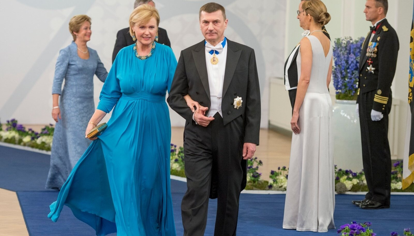 Endine peaminister, Euroopa Komisjoni asepresident Andrus Ansip ja pr Anu Ansip