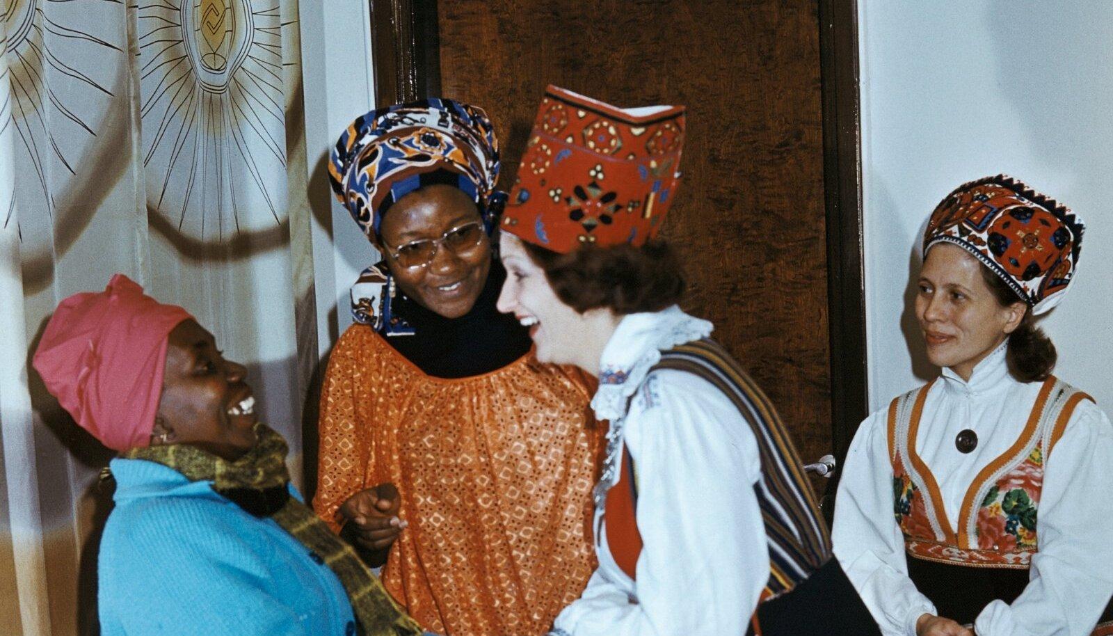 Tansaania ja Eesti naiste kohtumine aastal 1977.