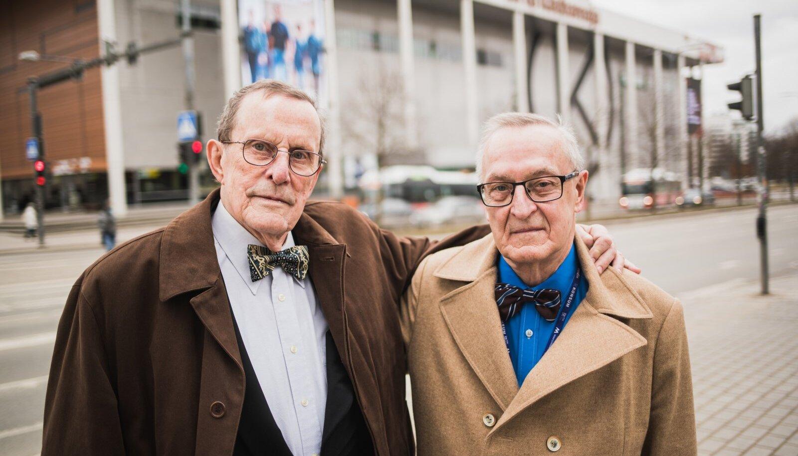 Vello ja Kalev Kalamees – vennad, kes on läbi elu püüdnud olla härrasmehed nii hingelt kui riietuselt.