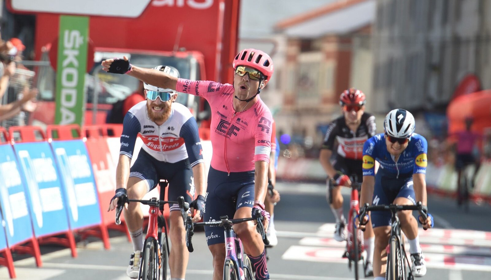 Magnus Cort võitis seekordsel Vueltal juba kolmanda etapi.