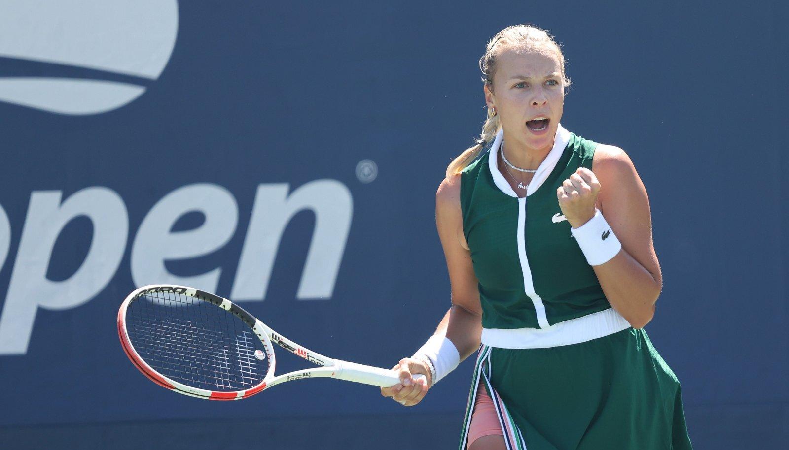 Anett Kontaveit pääses veenva esitusega US Openil 32 parema sekka.