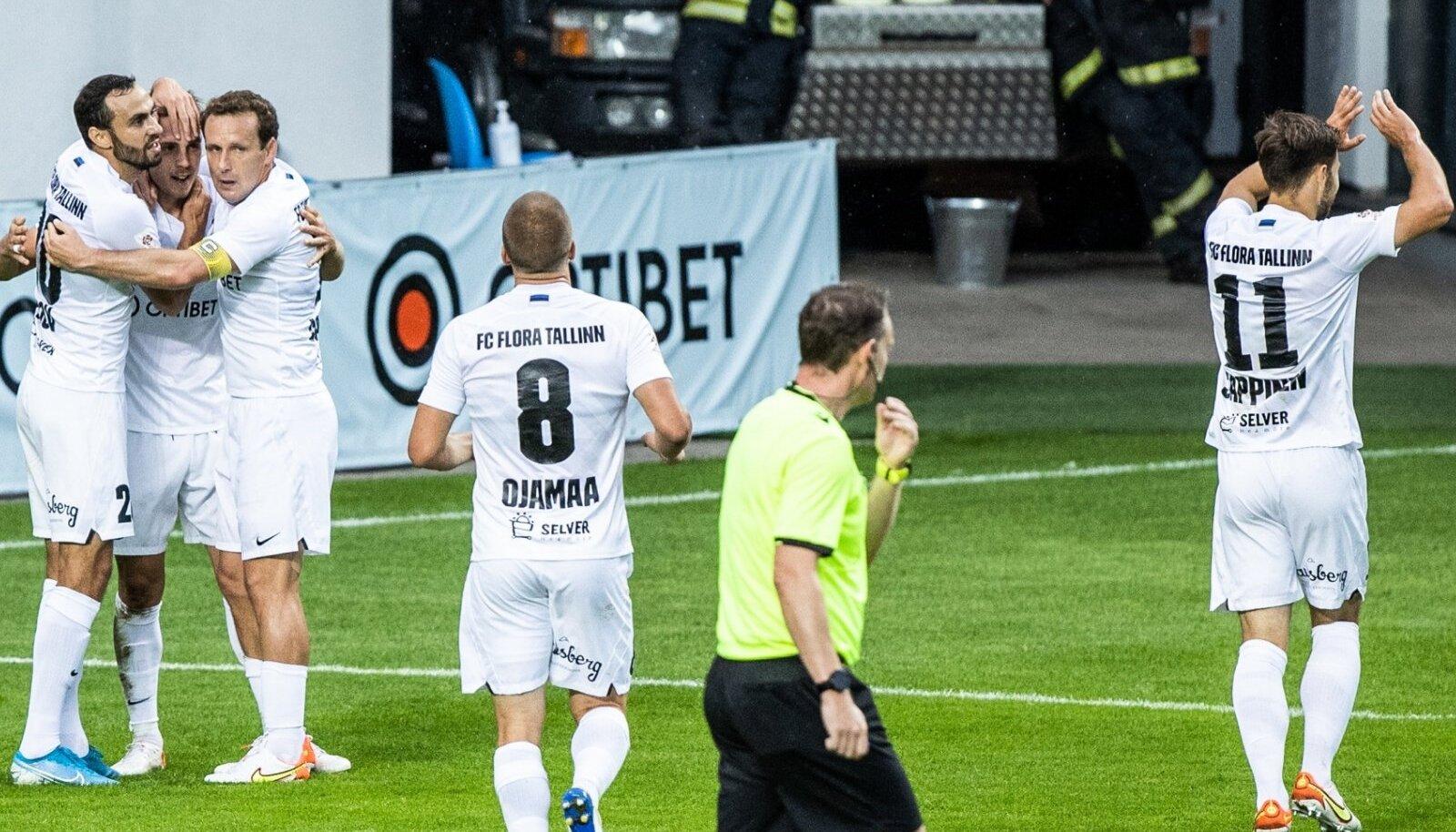 FC Flora on rajanud oma edu Eesti mängijatele.