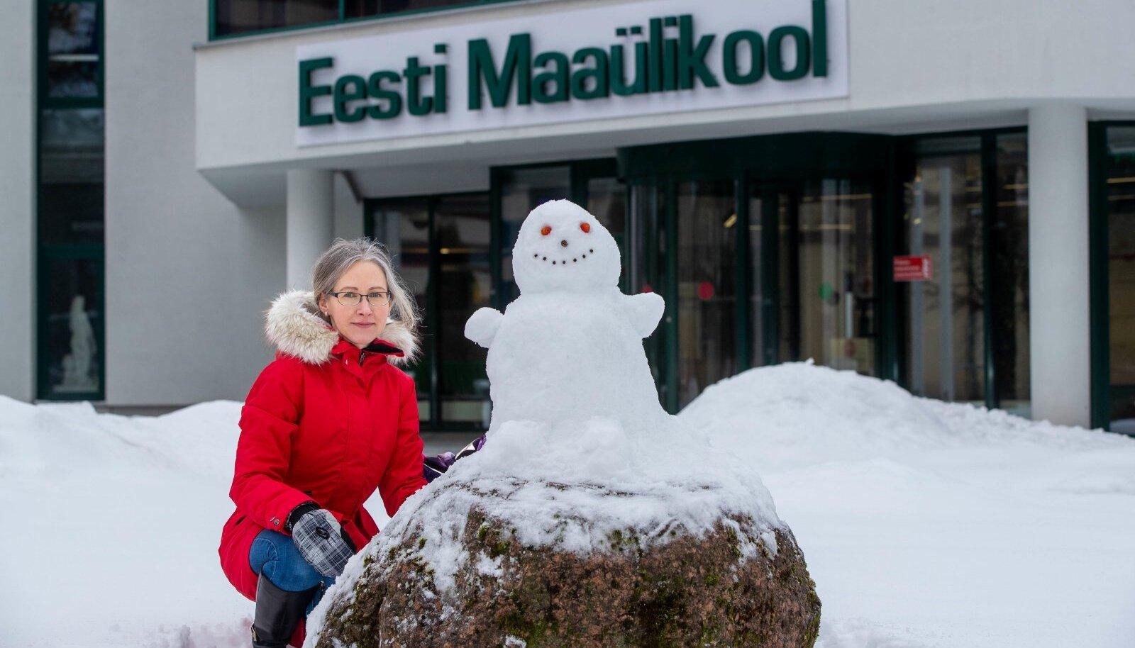 Helis Luik-Lindsaar uuris põllumajandusettevõtete efektiivsust. Ka lumest memme saab valmistada vähem või rohkem efektiivselt.