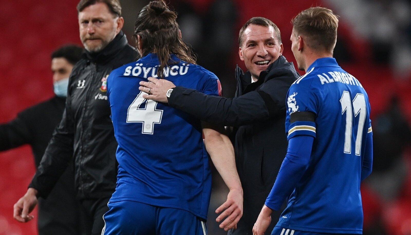 Leicester City on pika pausi pärel taas FA Cupi finaalis.