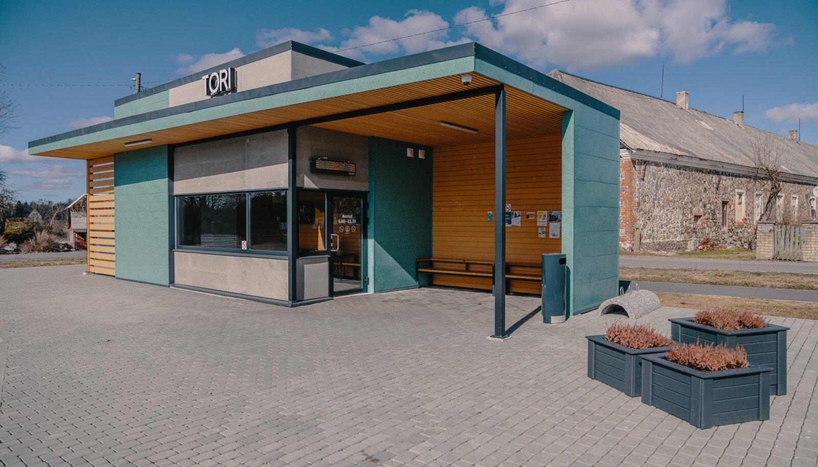 Tori uus bussijaam