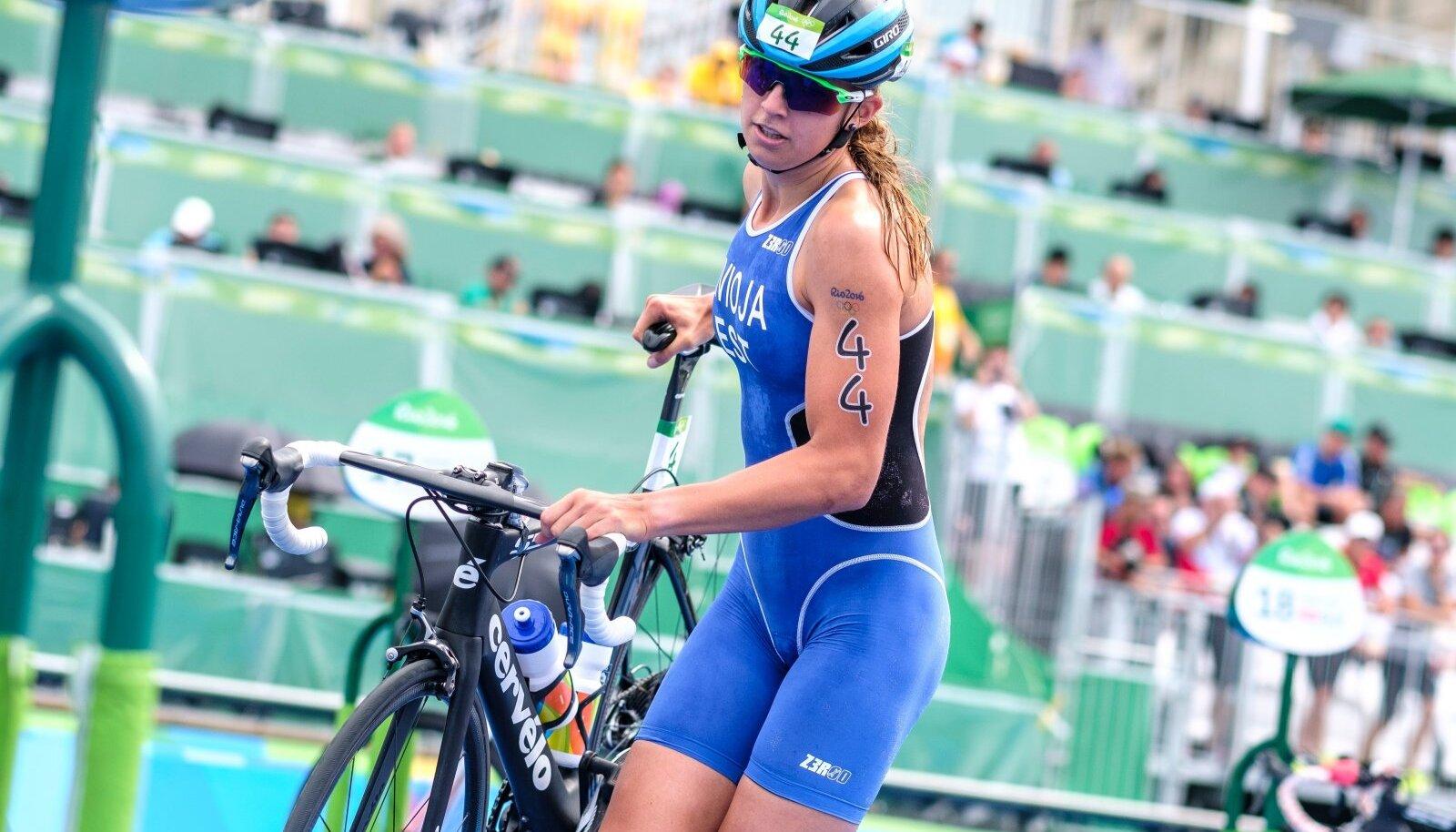 Kaidi Kivioja Rio olümpial.