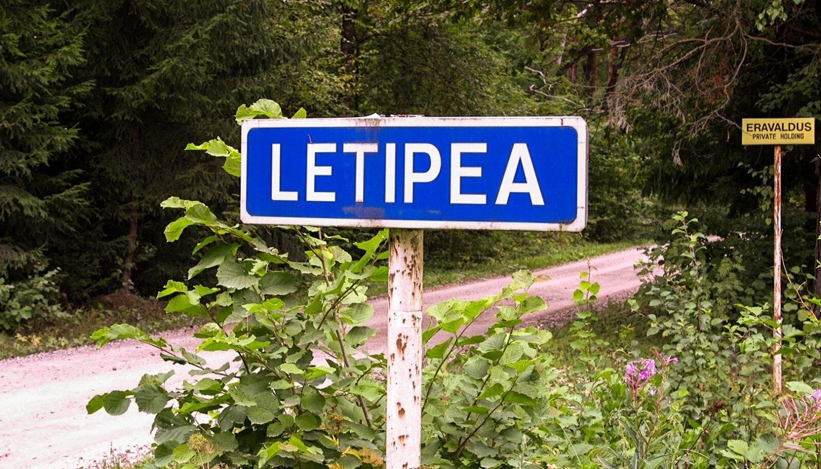 Letipea oli suvituskoht, mis ühtlasi asus piiritsoonis. Pidevalt oldi NSVL-i piirivalvurite silme all.