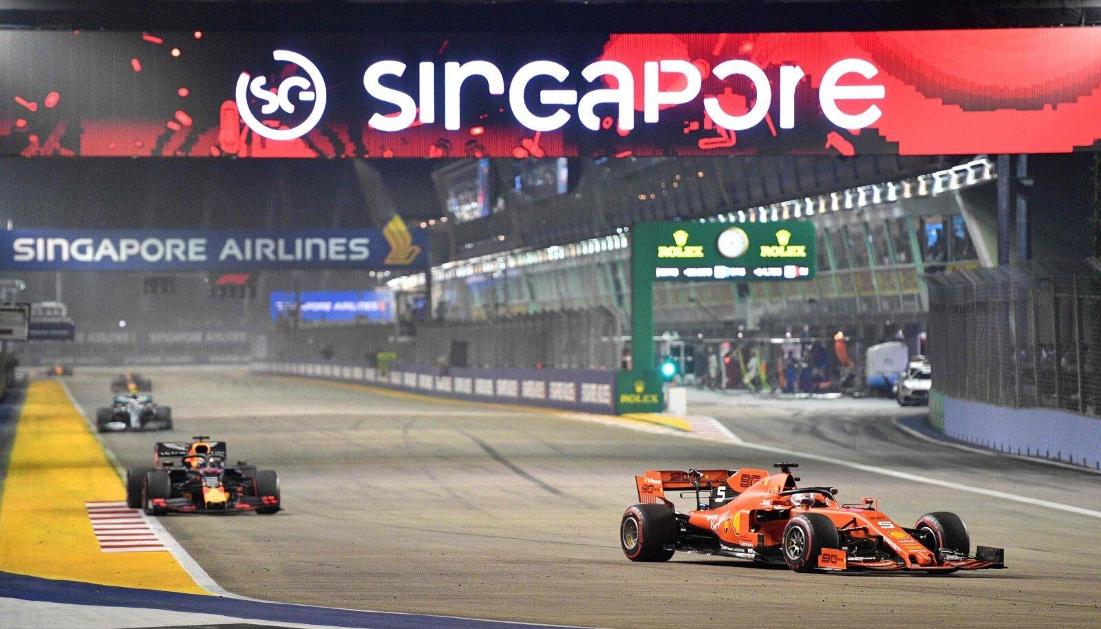 Singapuri vormel-1 etapp.