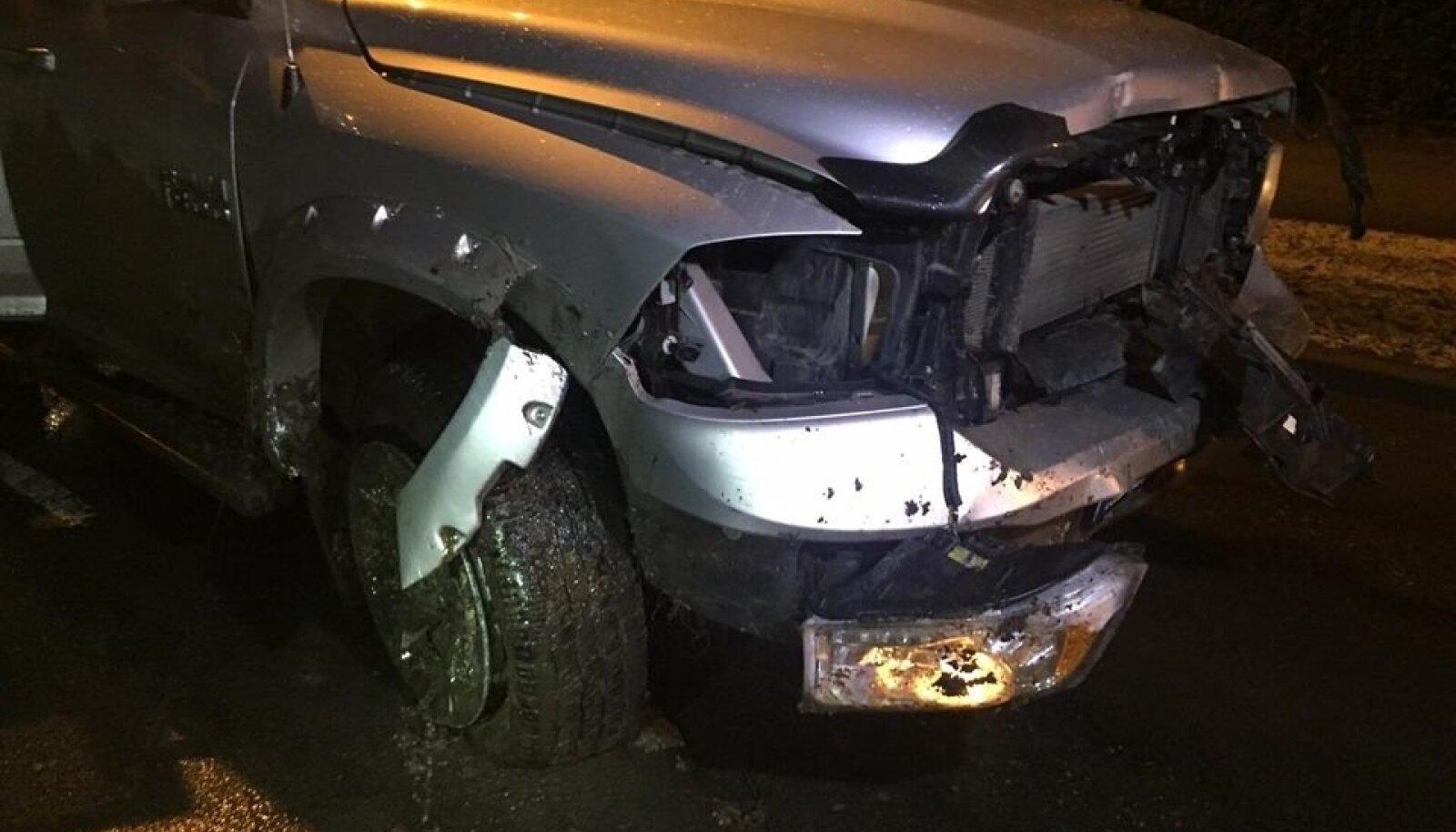 Liiklusõnnetus Vabaõhumuuseumi teel