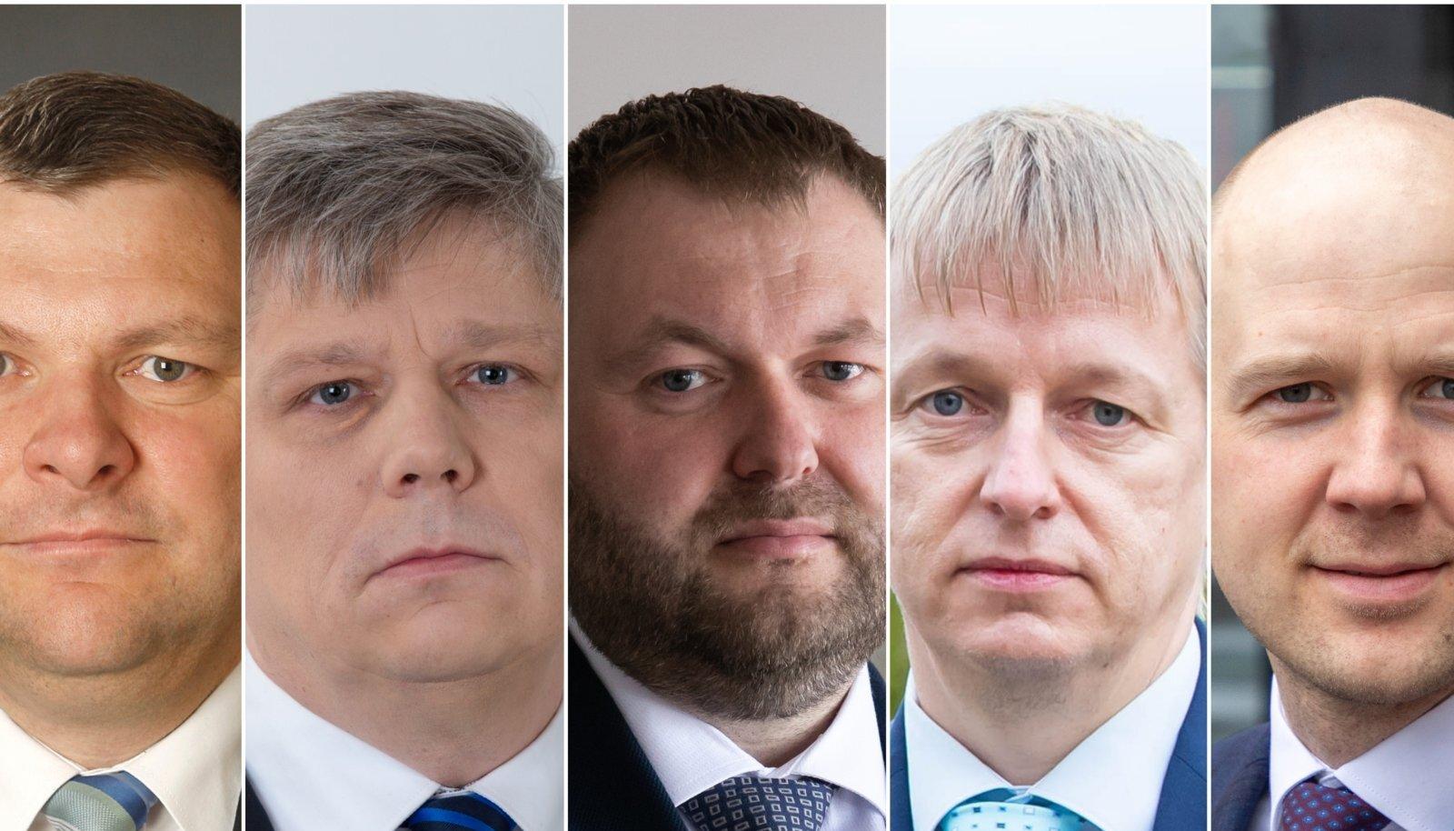 KESKKONNAMINISTRID: Keskkonnaministeeriumis on viimase viie aasta jooksul olnud viis ministrit. Ministrid jõuavad vaevalt sisse elada, kui peavad juba lahkuma.