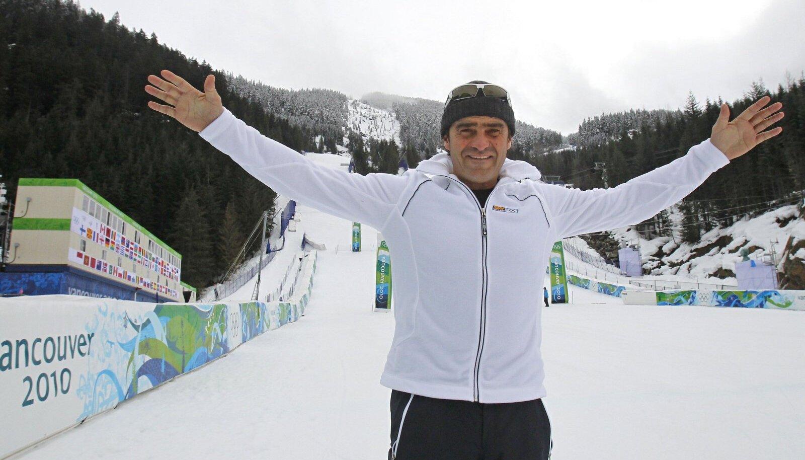 Alberto Tomba Vancouveri olümpial.