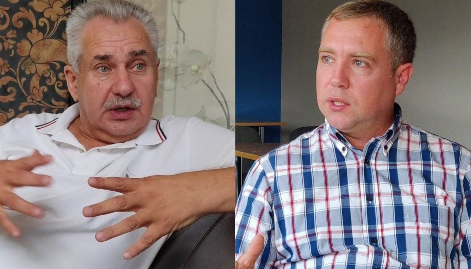 Narva volikogu liikmed Aleksei Voronov ja Ants Kutti