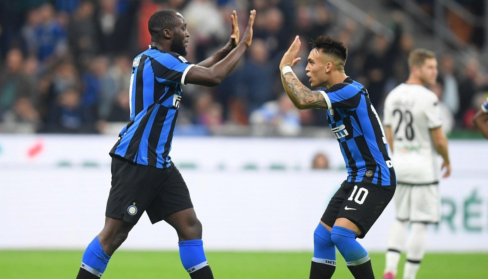 (SP)ITALY-MILAN-SOCCER-SERIE A-INTER VS PARMA