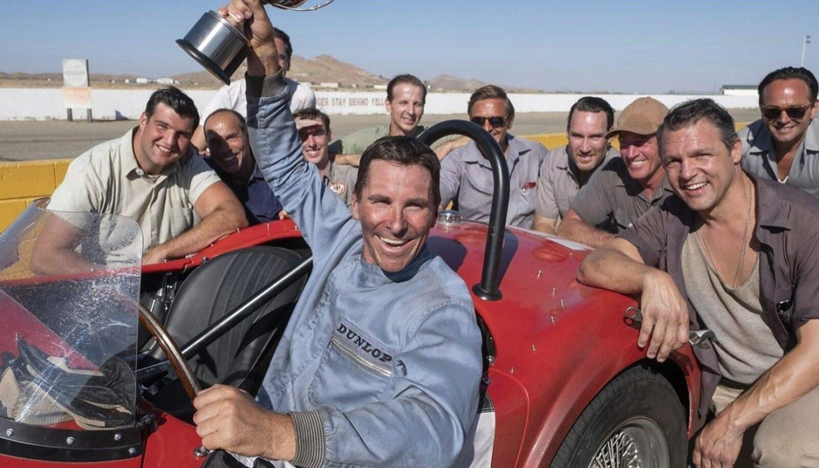 ET OLEKS NAGU PÄRIS: Ken Milesi kehastav Christian Bale käis ehedama osatäitmise nimel ka võidusõidukoolis.