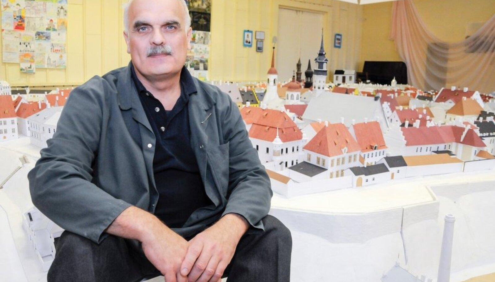 Fjodor Šanson ja tema vanalinna makett