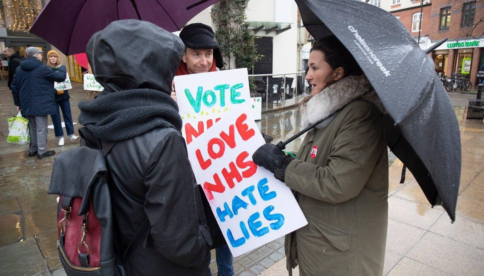 Briti valimispäev keerles ümber Boris Johnsoni isiku