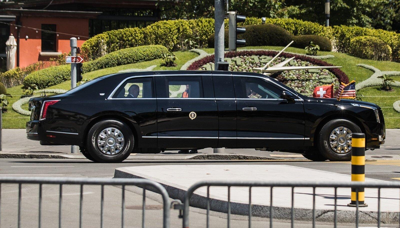Putin ja Biden saabuvad Genfi