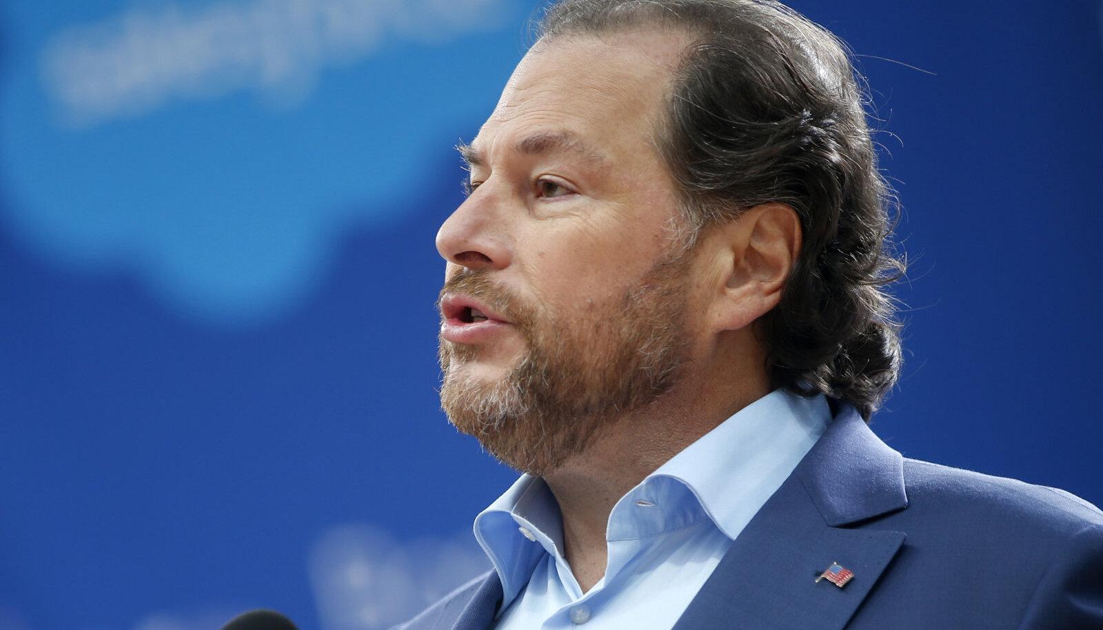 Salesforce'i juhatuse esimees Marc Benioff