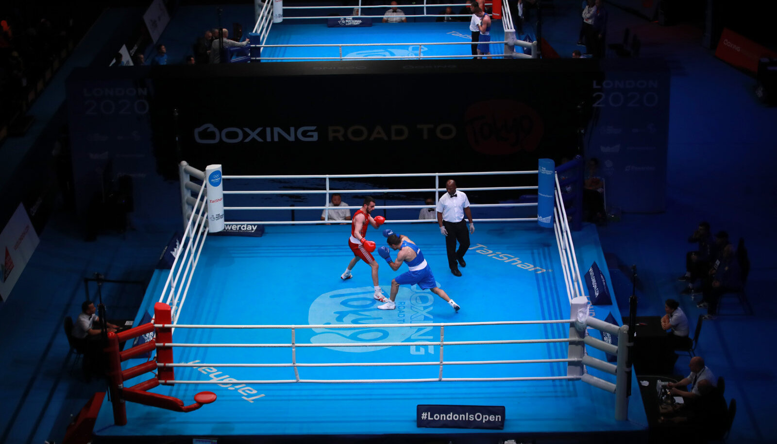 Londonis peetud poksi olümpiakvalifikatsiooniturniir.