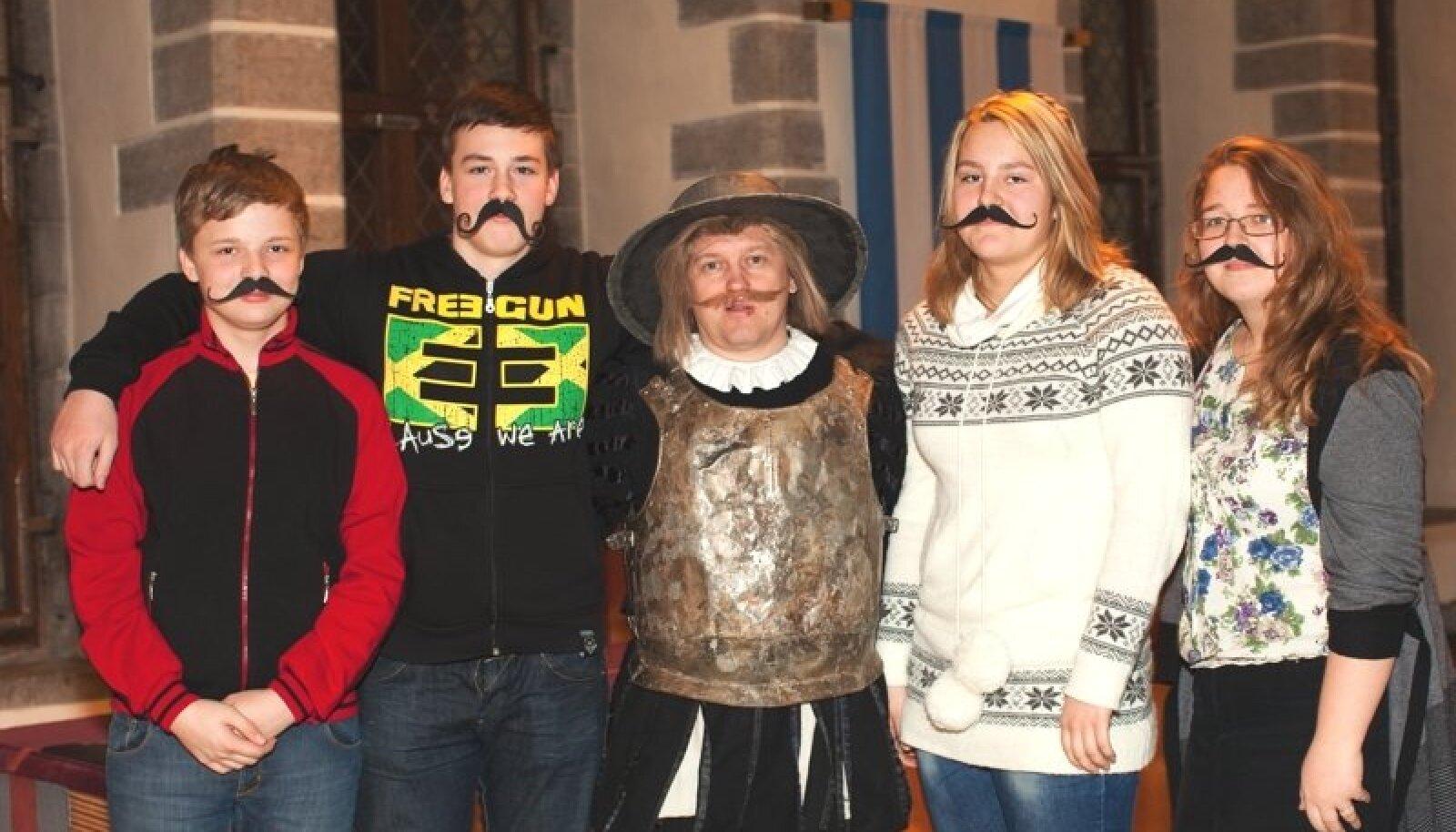 29. novembril toimunud mängu finaaletapi autasustamistseremoonia Tallinna Raekohas