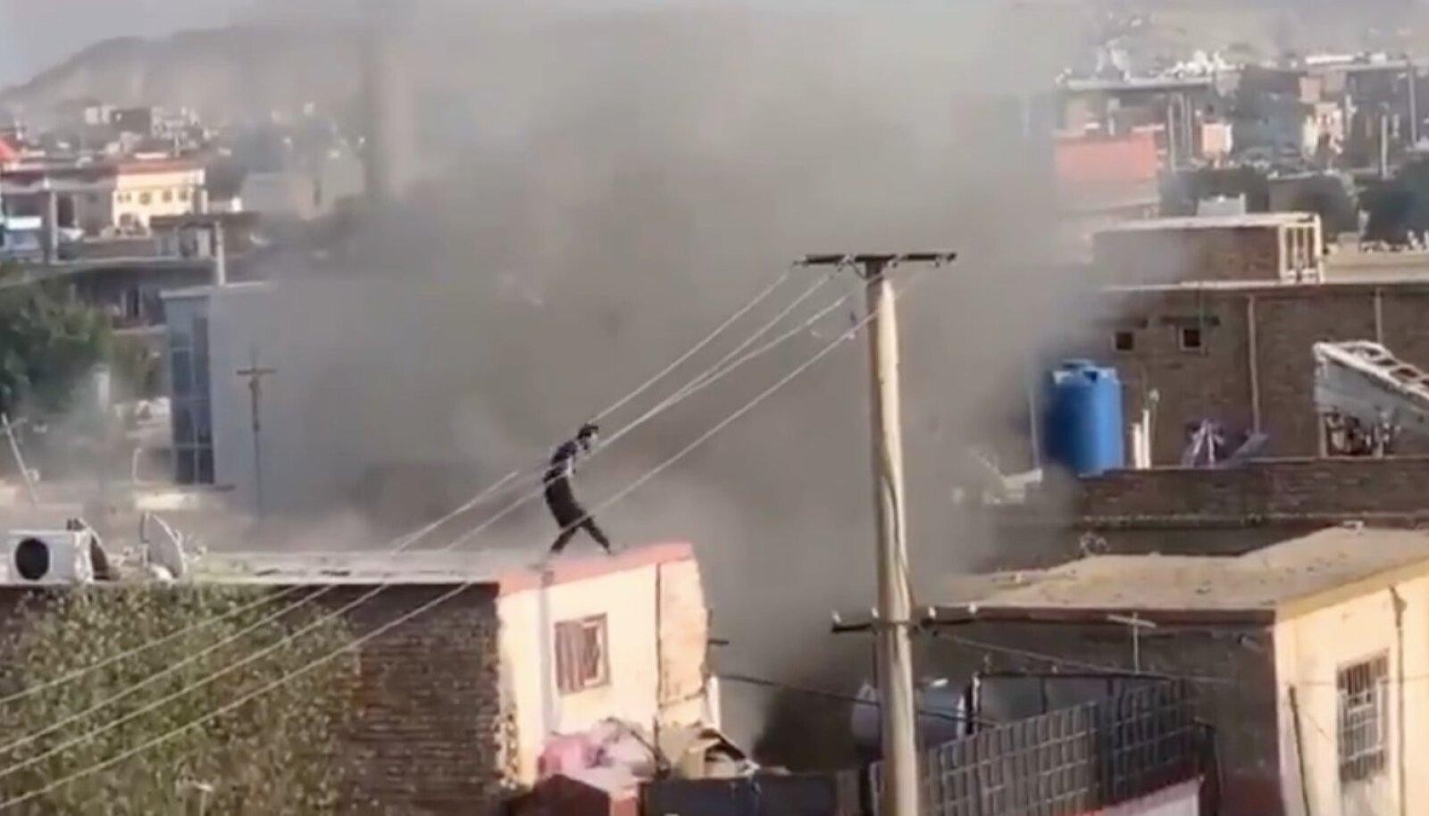 Plahvatus Kabuli lennujaama lähedal