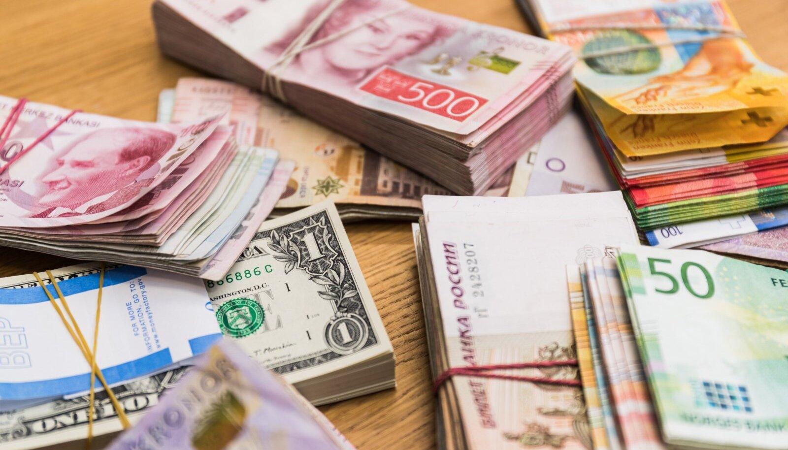 Limassoli linn Küprosel on valuutakauplejate meka