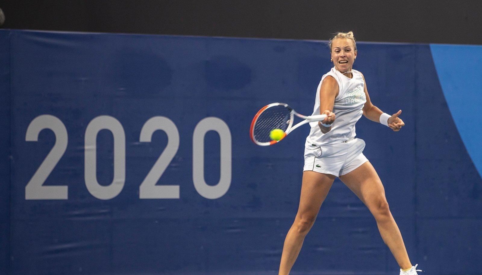 Anett Kontaveit on olümpiadebüüdi eel elevil.