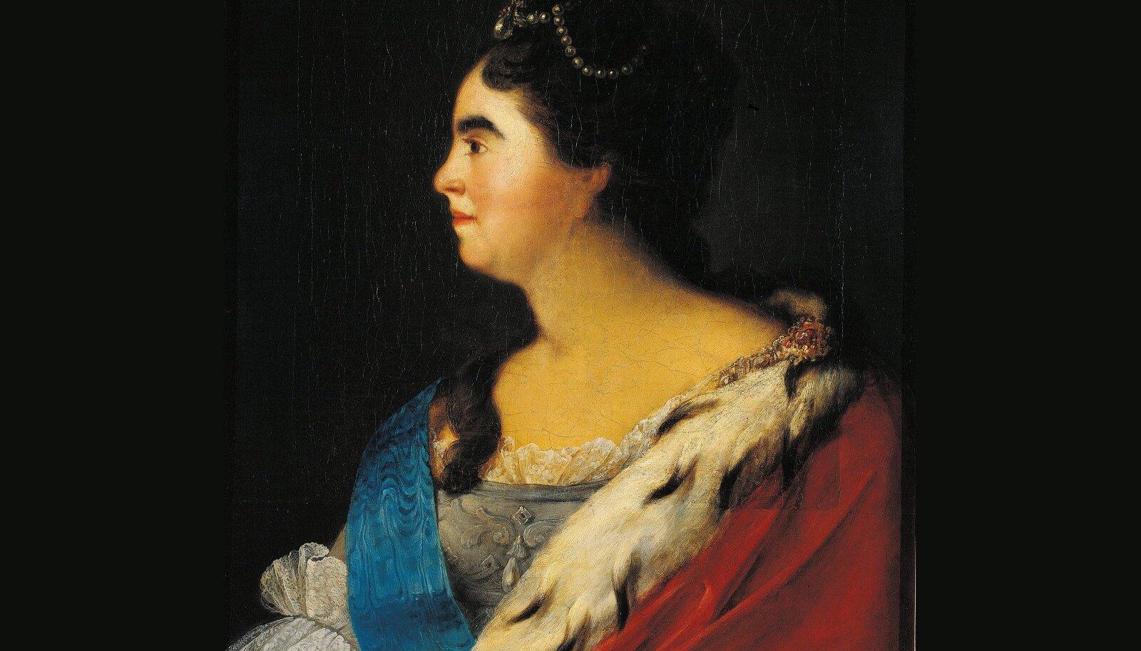 Katariina I oli kaasaegsete mälestuse järgi heleda naha ja tumeda peaga naine, kelle kirjeldus ei vasta siiski sellele kuidas me endale eestlast ette kujutame.