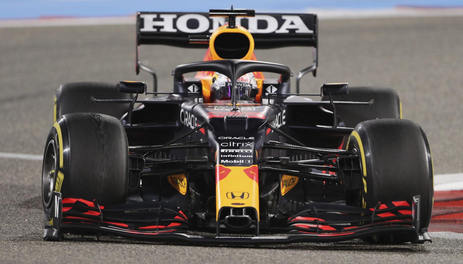 Max Verstappen hooaja avaetapil Bahreinis.