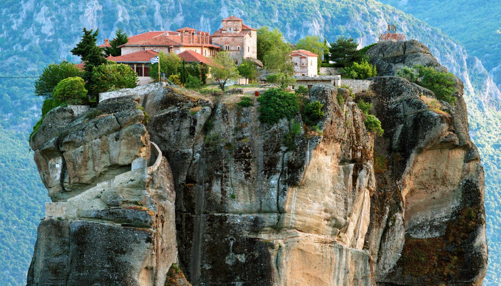 Meteora kloostrid Kreekas.