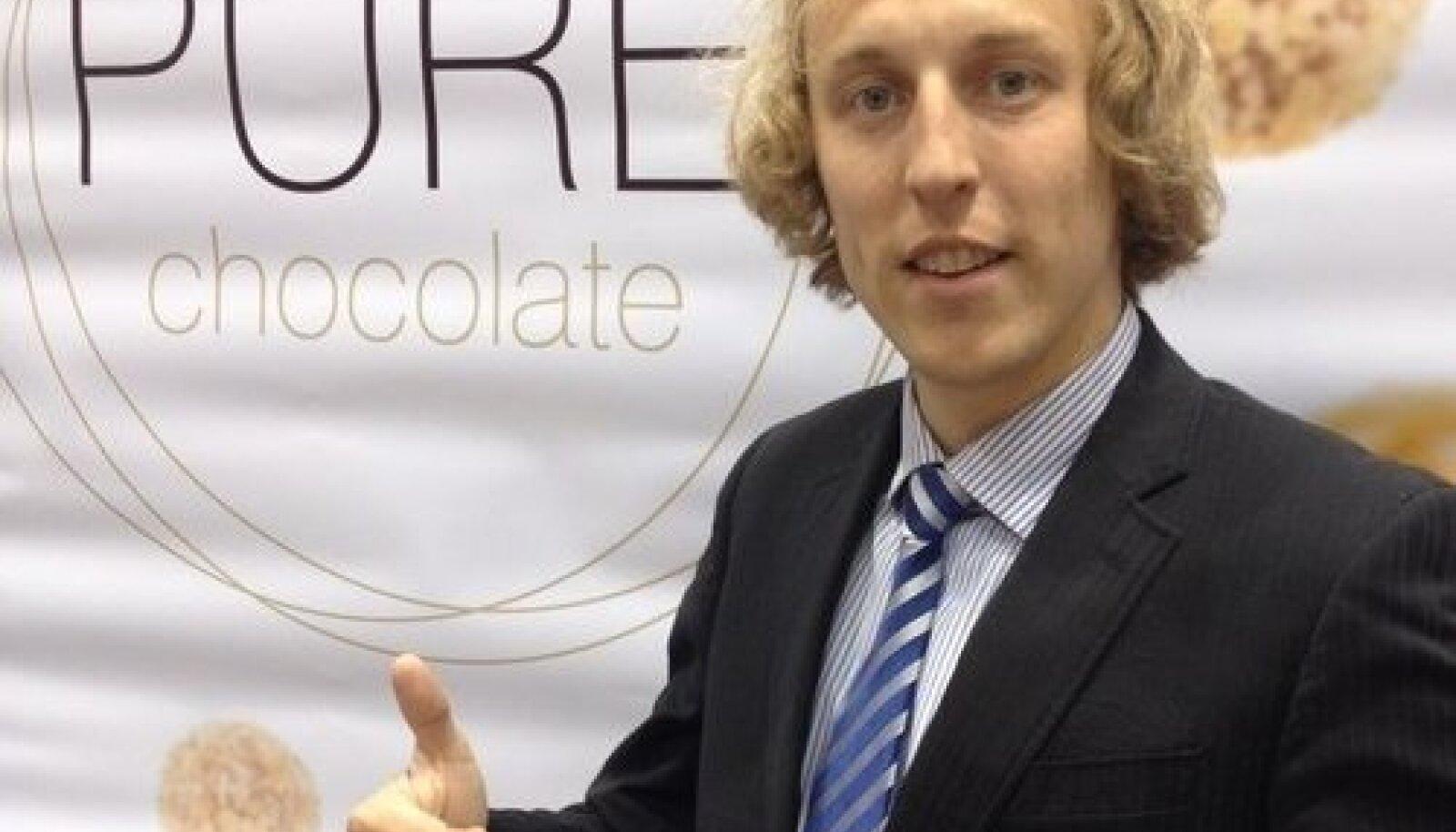 PURE Chocolate Factory juht Peteris Zimants.