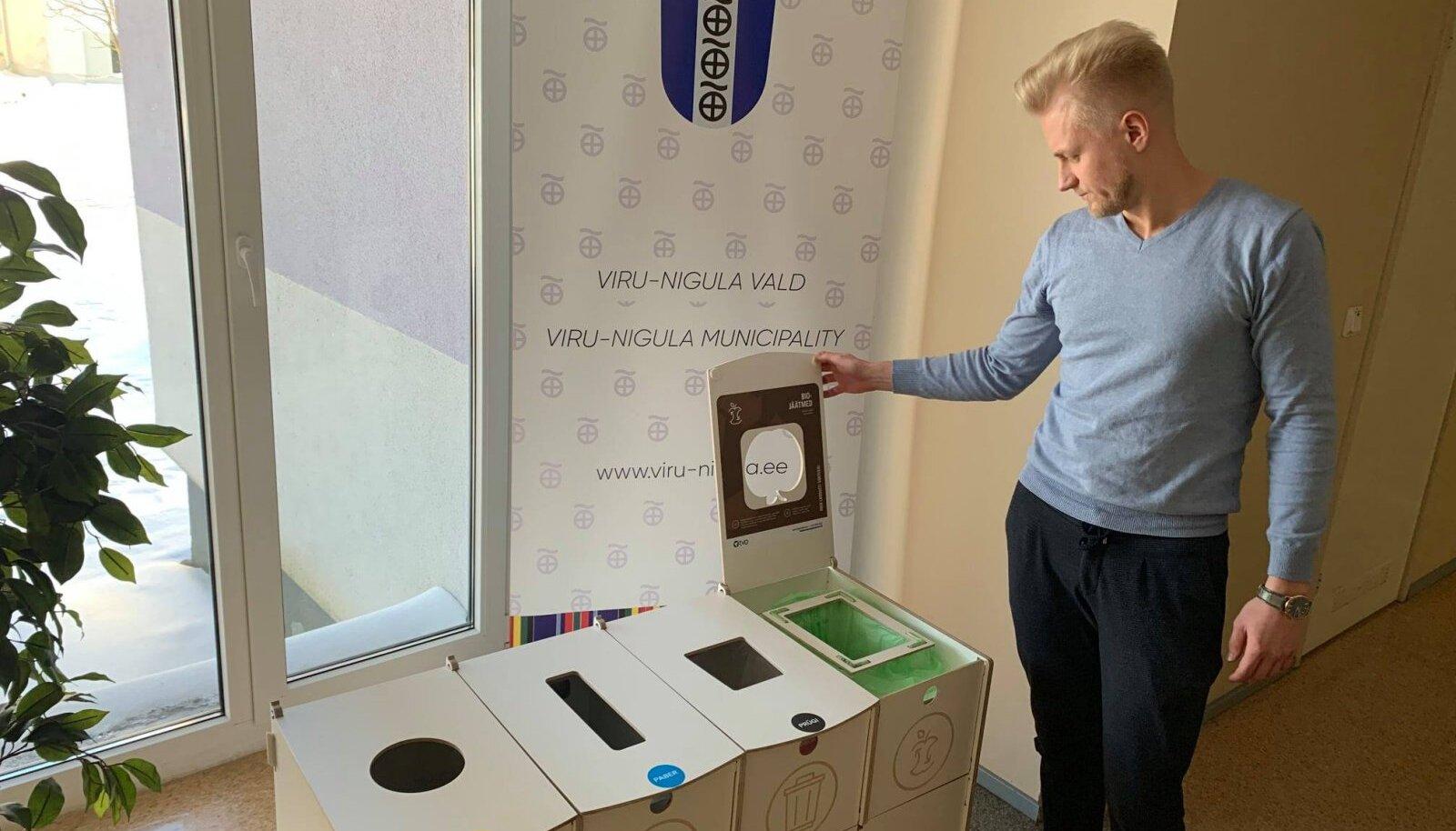 Viru-Nigula vallas on sortimisjaam muutnud jäätmete liigiti sorteerimise lihtsamaks.