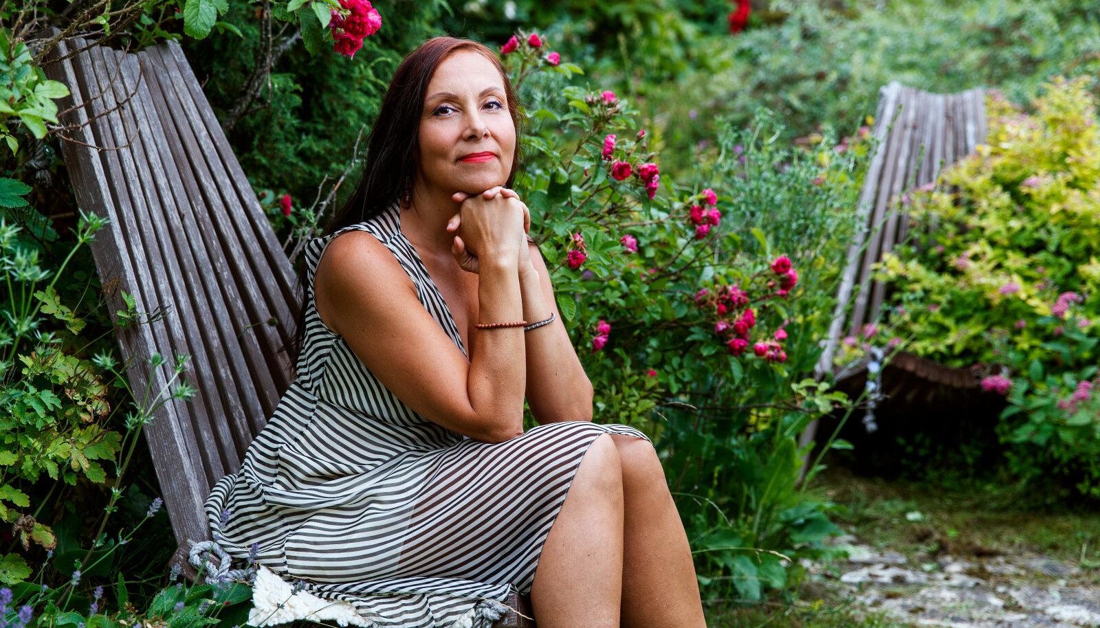 Psühholoog ja ajurveeda praktik Mirjam Hakkaja soovitab nautida hetki, kui saab lihtsalt olla ega pea midagi tegema.