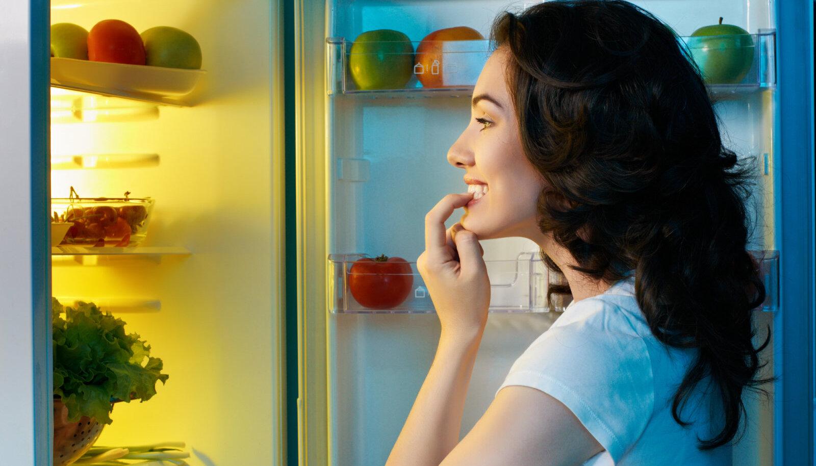 Pane külmkapp kinni ja joo parem klaas vett