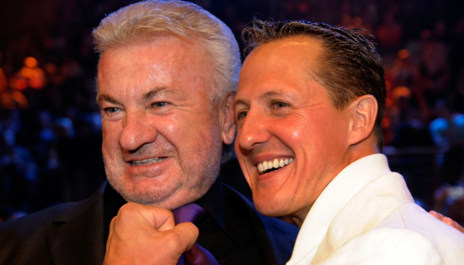 Michael Schumacher ja Willi Weber