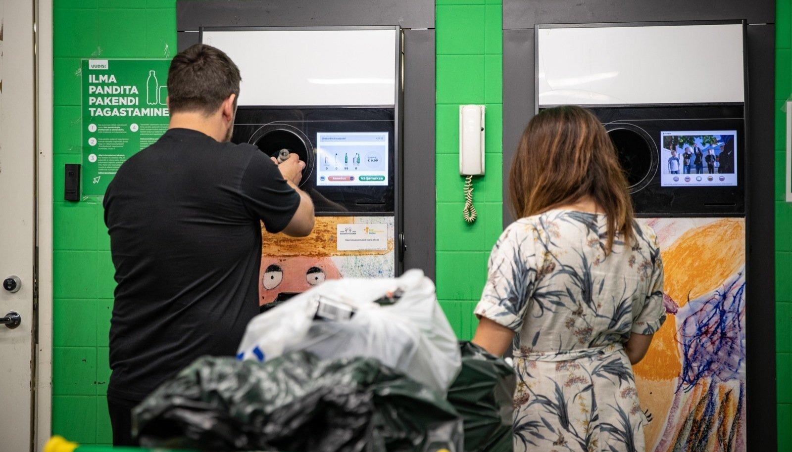 Praegu on võimalik pandimärgita taarat tagastada ainult Prisma kaupluste taaraautomaadides, kuid selle eest raha ei saa. Teine võimalus on selline taara viia pakendikonteinerisse.