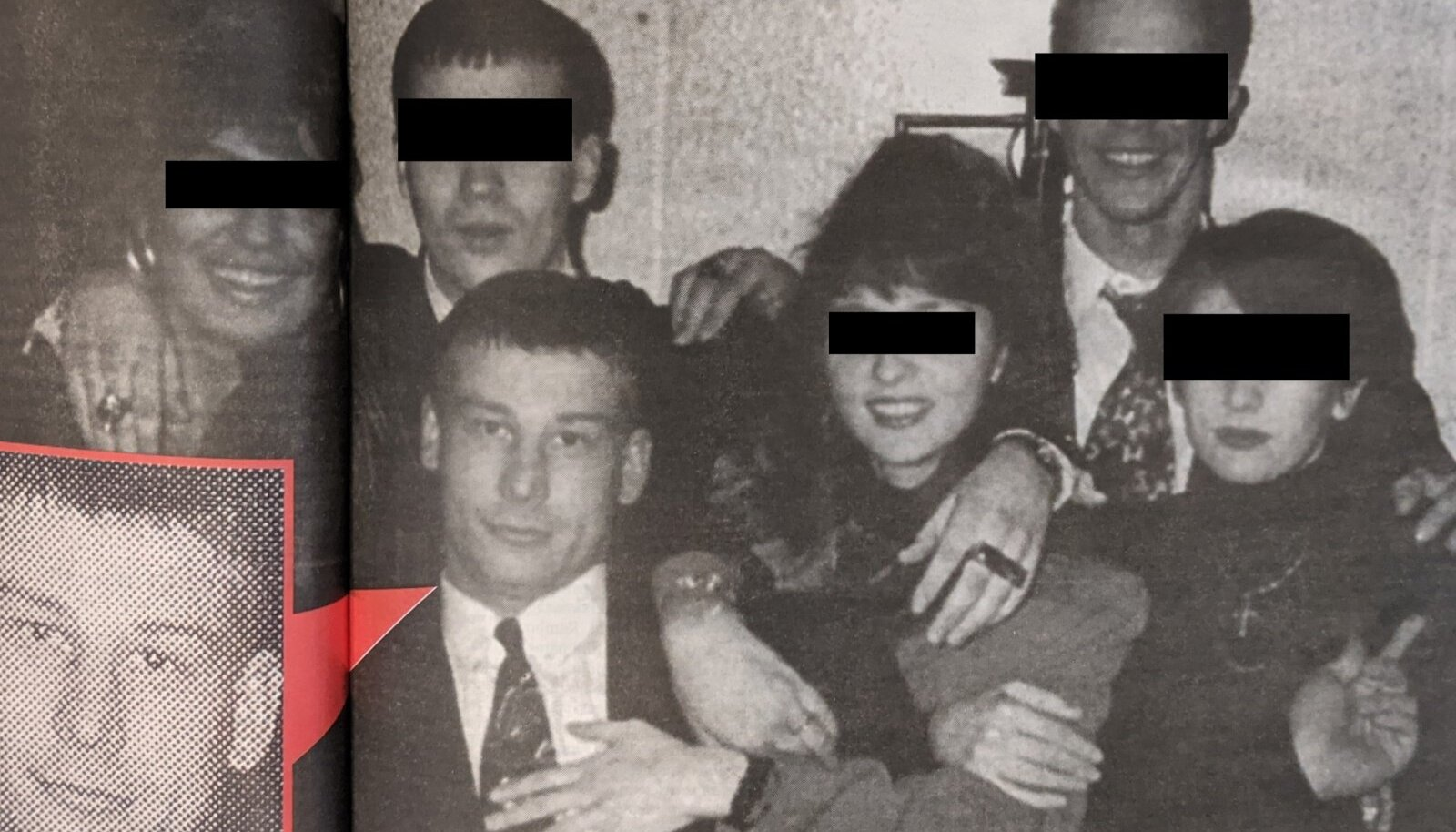 1996: Toomas Erm Wilson koos kamraadidega, keda politsei seostas tollal Kaasani grupeeringuga.