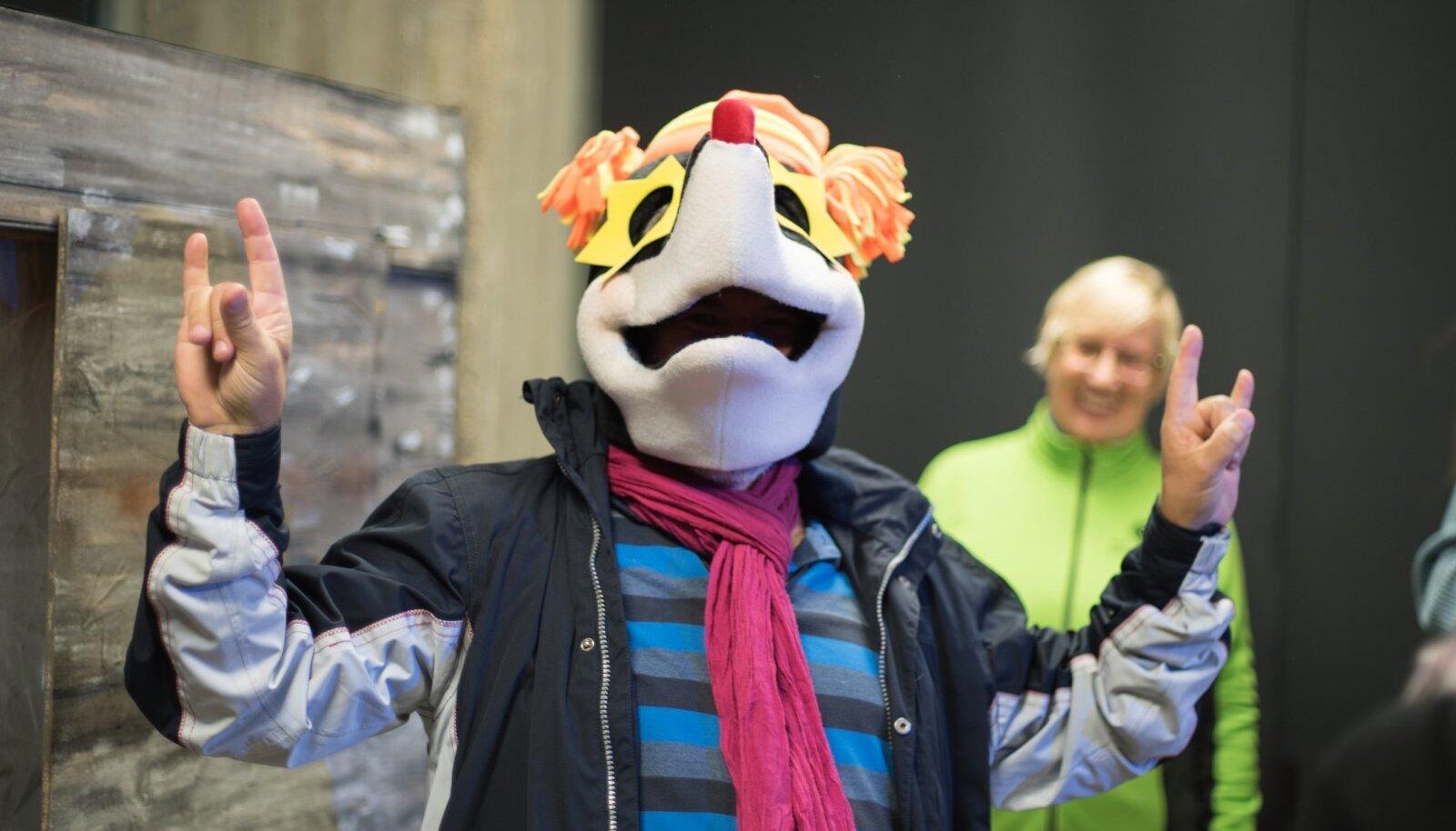 Ida-Virumaal seiklemist jätkub, Kaevandusmuuseumis viib huvilised pärale maskott - mutt
