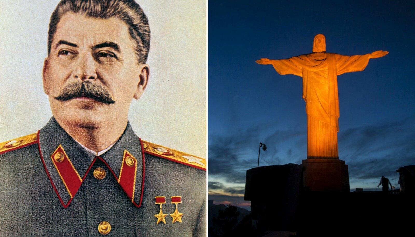 Jossif Stalin ja Jeesus Kristuse kuju