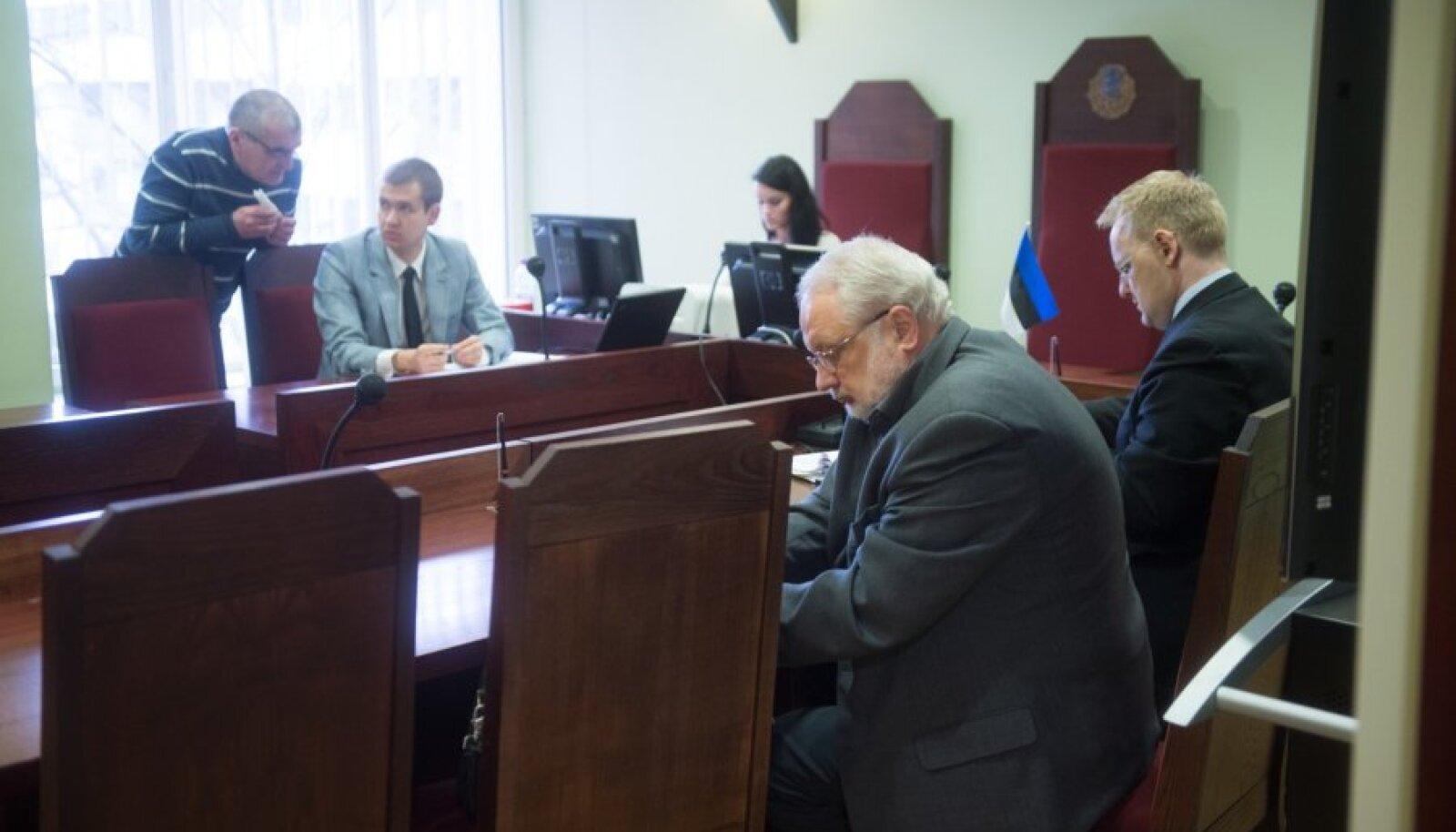 Ajakirjanik Oleg Samorodni vs Inimõiguste teabekeskuse juhataja Aleksei Semjonov