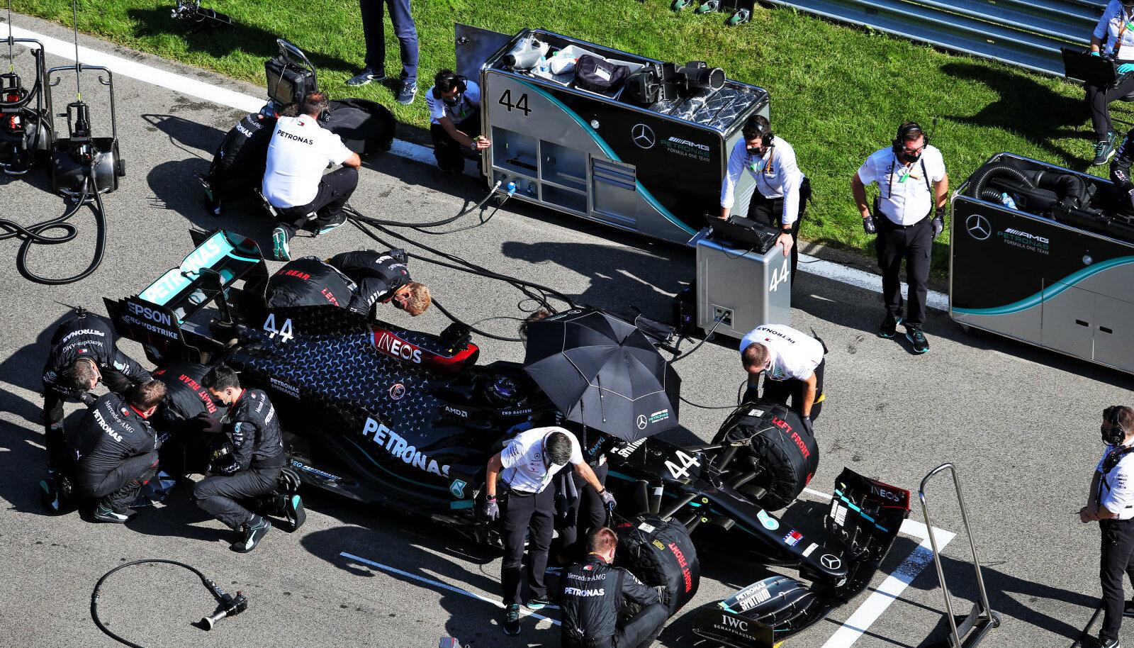 Mercedese F1 tiim.