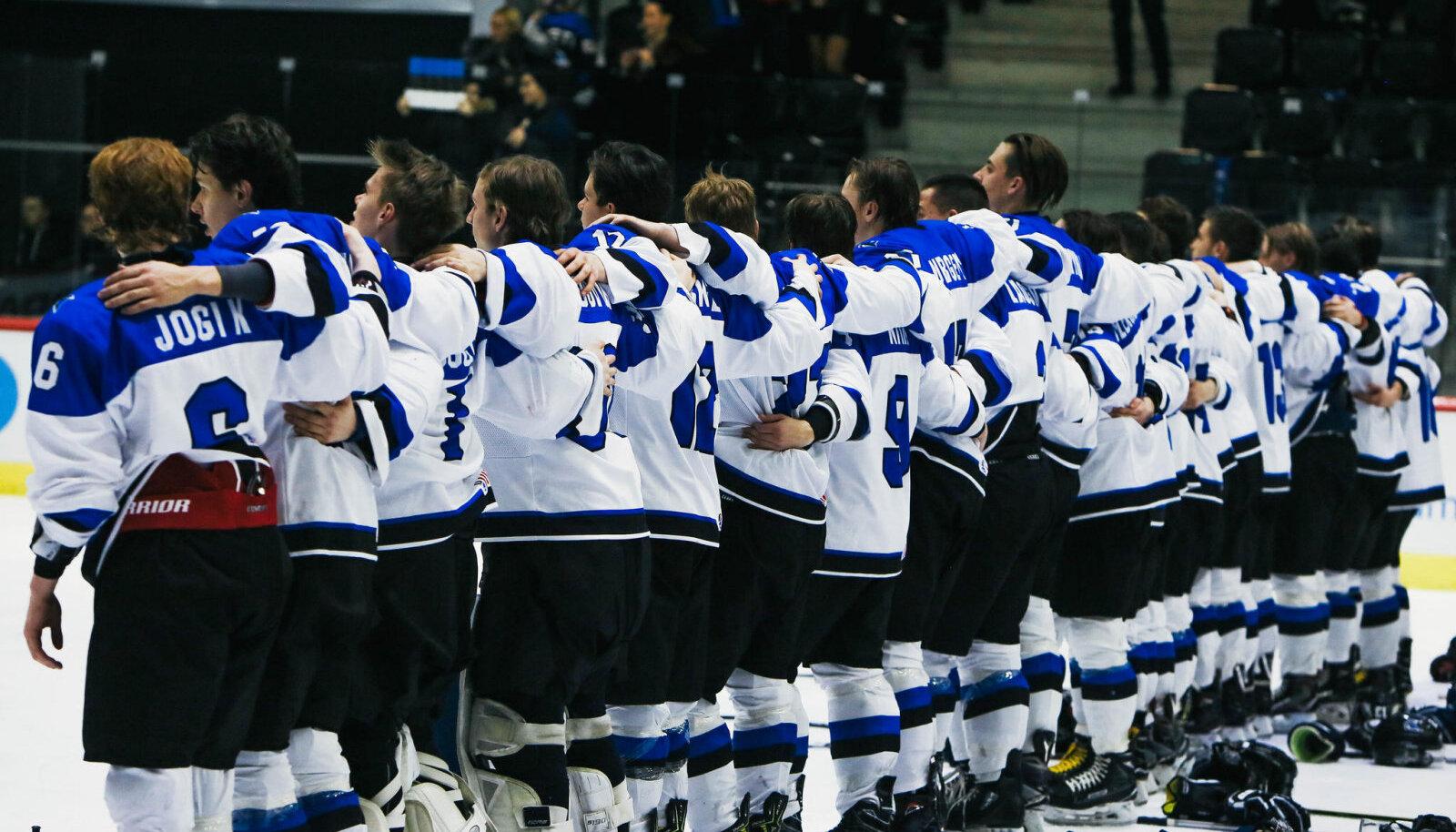 Eesti U20 jäähokikoondis