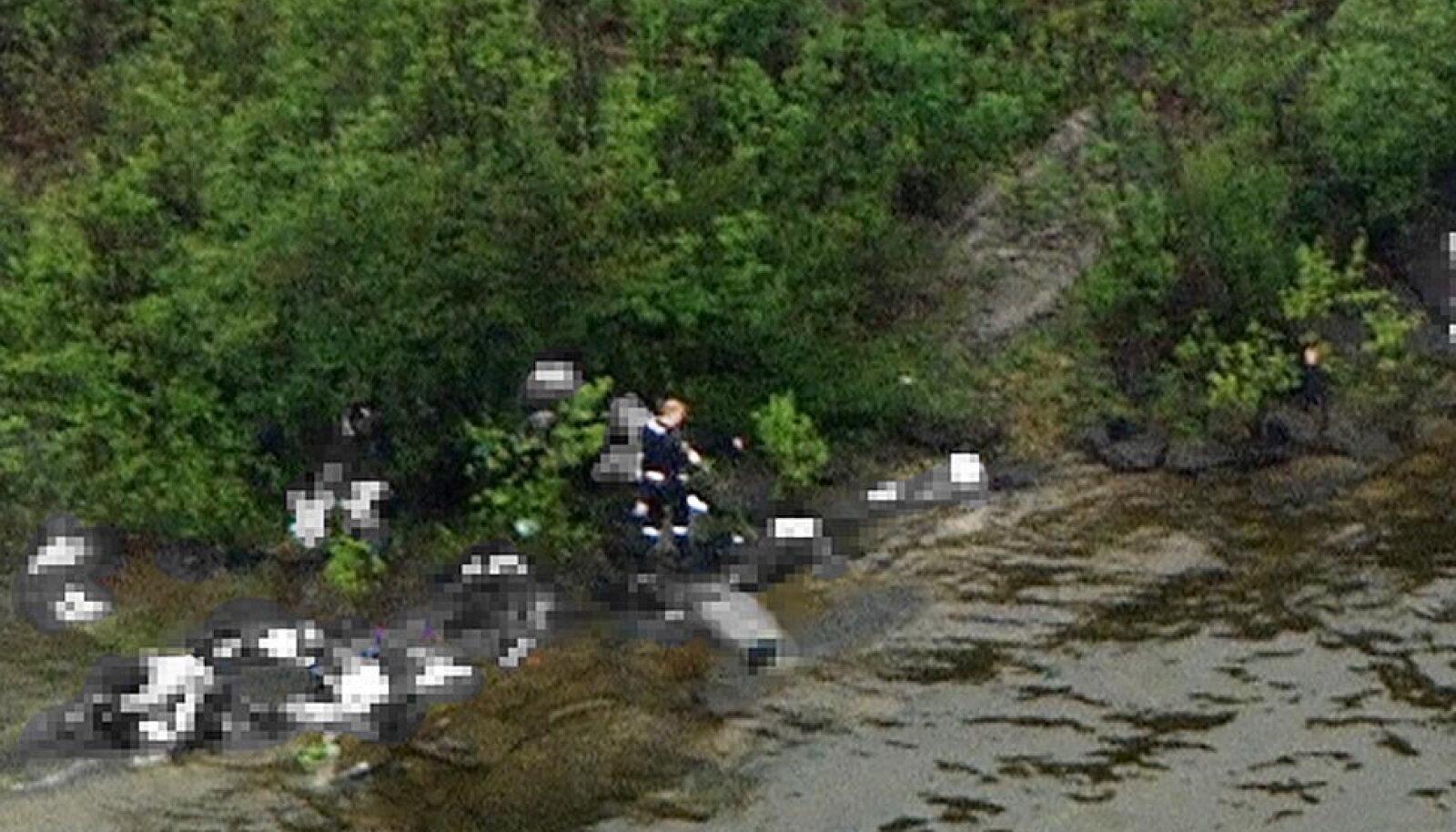 Anders Behring Breivik Utøya saarel