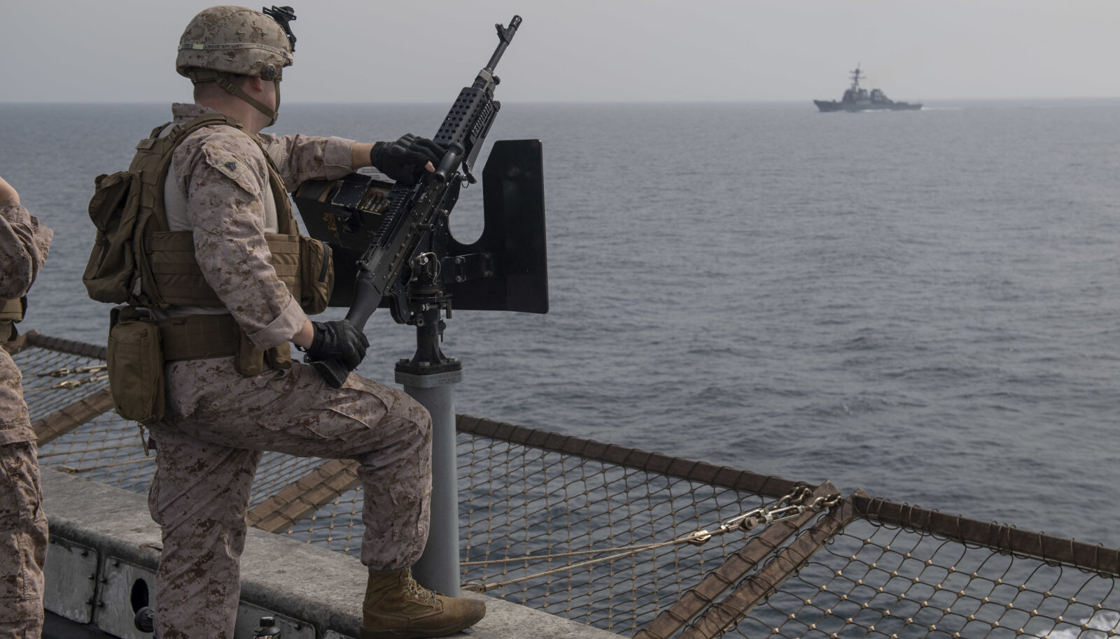 Illustratiivne pilt USA merevägede sõdurist (foto: ZUMAPRESS.com / Scanpix)